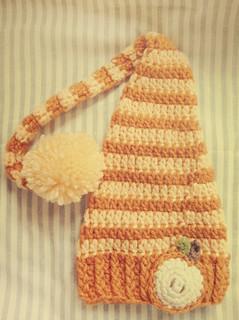 Cappellino Per Neonato Alluncinetto Schema Base Amica Mamma