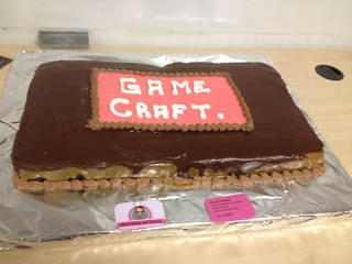 Dublin GameCraft 4 Cake (by Eimear's Cakes)