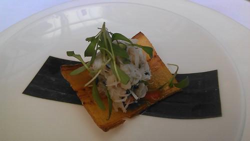 Dungeness Crab Tostadita