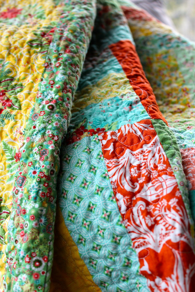 Flora Jelly Rail Quilt