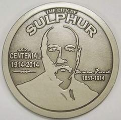 Sulphur Centennial obverse