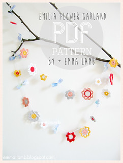 shoptalk : Emilia Flower Garland, the pattern