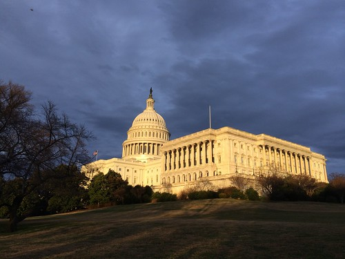 Capitol at Solstice Sunset