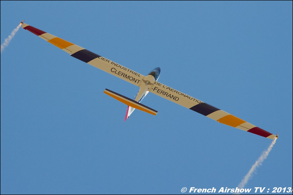 Planeur B4 Pilatus Denis de HARTMANN au Free Flight World Masters Valence 2013, Meeting aerien 2013