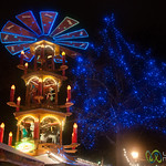 Potsdam Chrsitmas Market at Night - Berlin, Germany