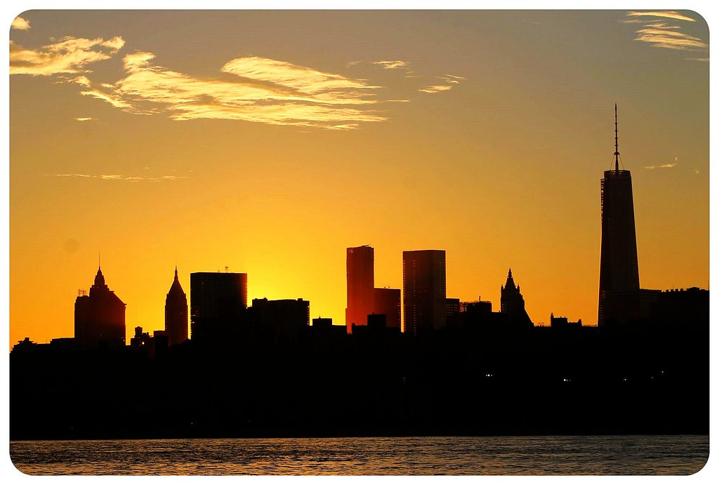 11 New York sunset
