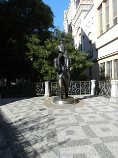 Franz Kafka statue