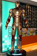 iron man, machine, action figure,