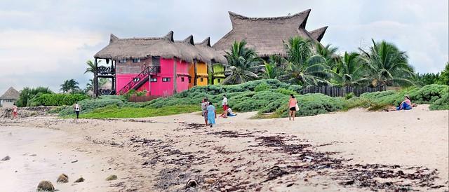 De camino a Sian Kaan. Península de Yucatán. México.