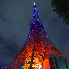 Many faces of Tokyo Tower