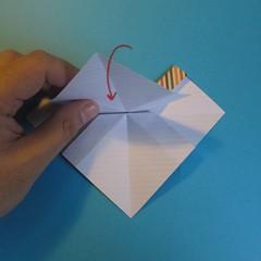 วิธีการพับกระดาษเป็นโบว์หูกระต่าย 018