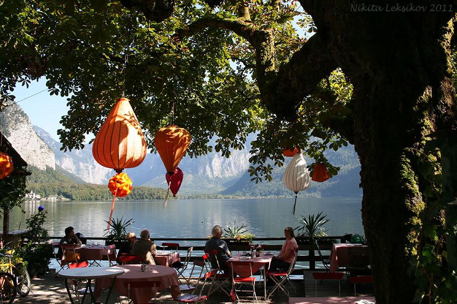 Гальштат - тихий австрийский городок на берегу озера