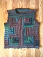 Mitered Squares Vest
