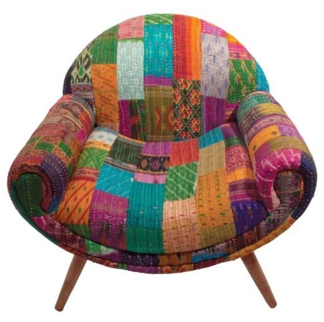 Ian Snow Retro kantha nest chair £397 on Amazon