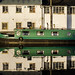 Barge on the Forth and Clyde canal by Alex McGinlay
