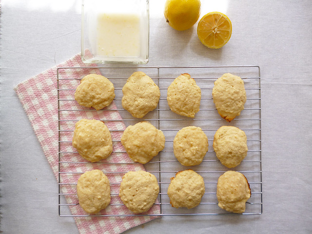 Raspberry Bloom: Soft Lemon Ricotta Cookie