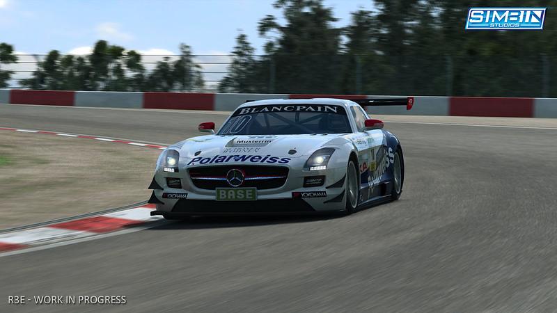 Marcedes SLS GT3
