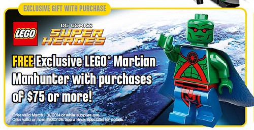 LEGO Super Heroes Martian Manhunter