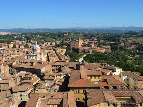 Siena, una ciudad medieval desde lo alto