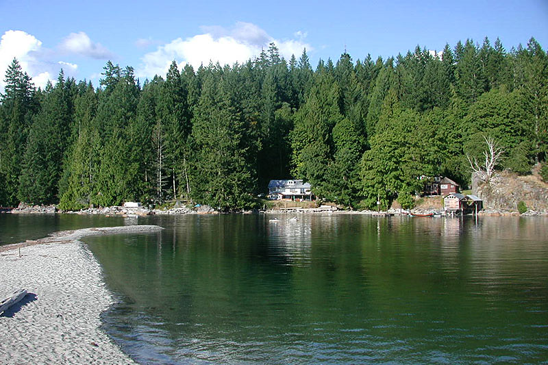 Manson's Landing, Cortes Island, Discovery Islands, British Columbia, Canada