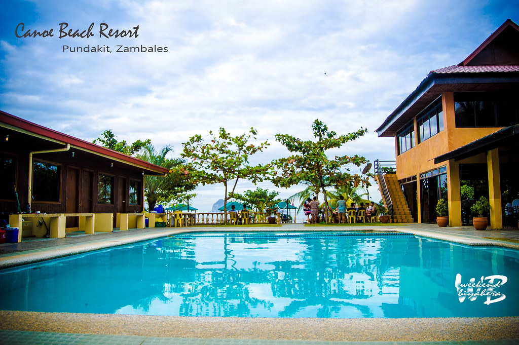Weekend Biyahera Pundakit Zambales Canoe Beach Resort