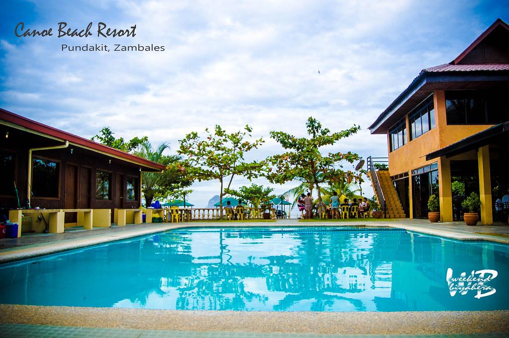 Weekend Biyahera Pundakit Zambales Canoe Beach Resort