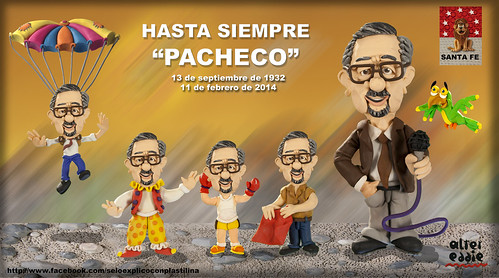 Hasta siempre Pacheco by alter eddie