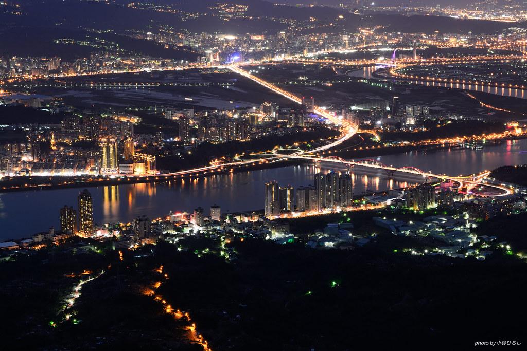 硬漢嶺夜景