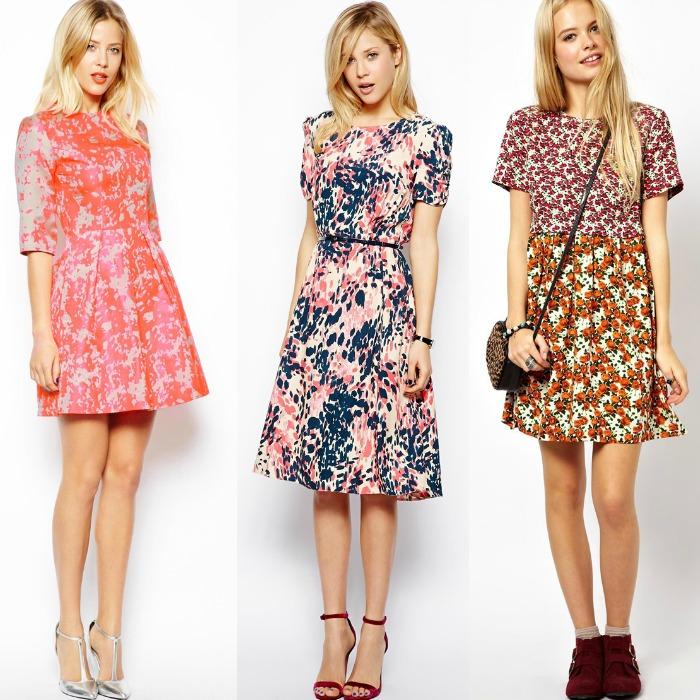 vestidos primavera asos