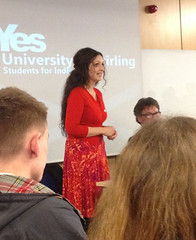 4 Visions of an Independent Scotland debate at the University of Stirling, February 2014
