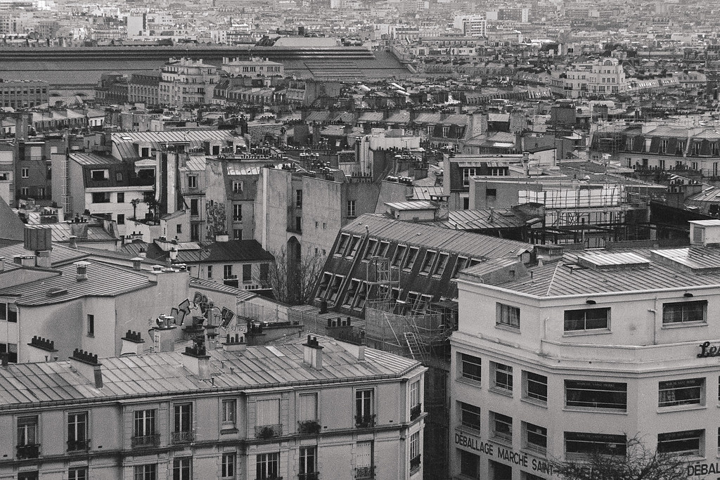 View from by the sacre coeur