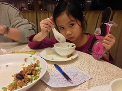 Dinner with Melody in (submitted by Athena from Renaissance College Hong Kong) by melodyaroundtheworld