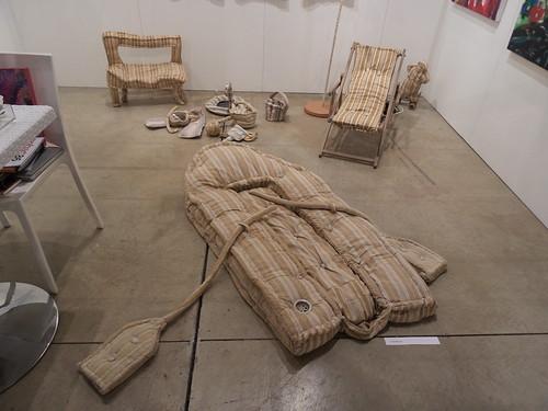 Una installazione allo Step Art Fair by Ylbert Durishti