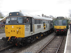 31130 & 107 DMU at The Avon Valley Railway Diesel Gala 12/04/14