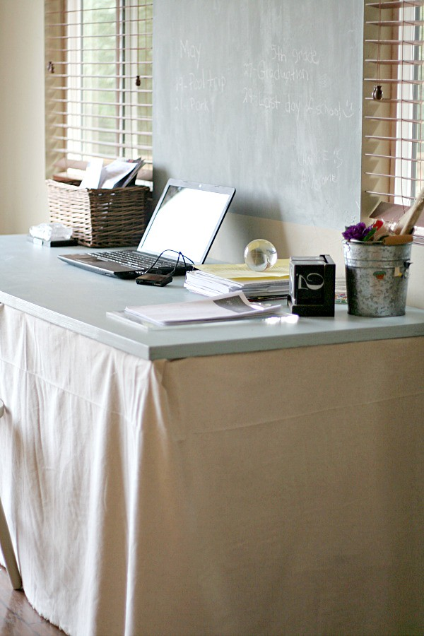 Beach Life {Office makeover} Brought to you by Glidden Paint