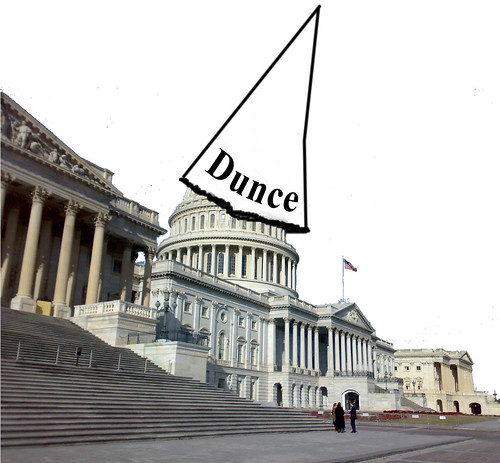 dunce cap congress