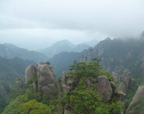 Jiangxi-Sanqing Shan-3 sentier du soleil (60)