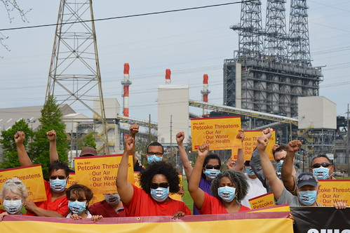 Chicago RNs protest Petcoke