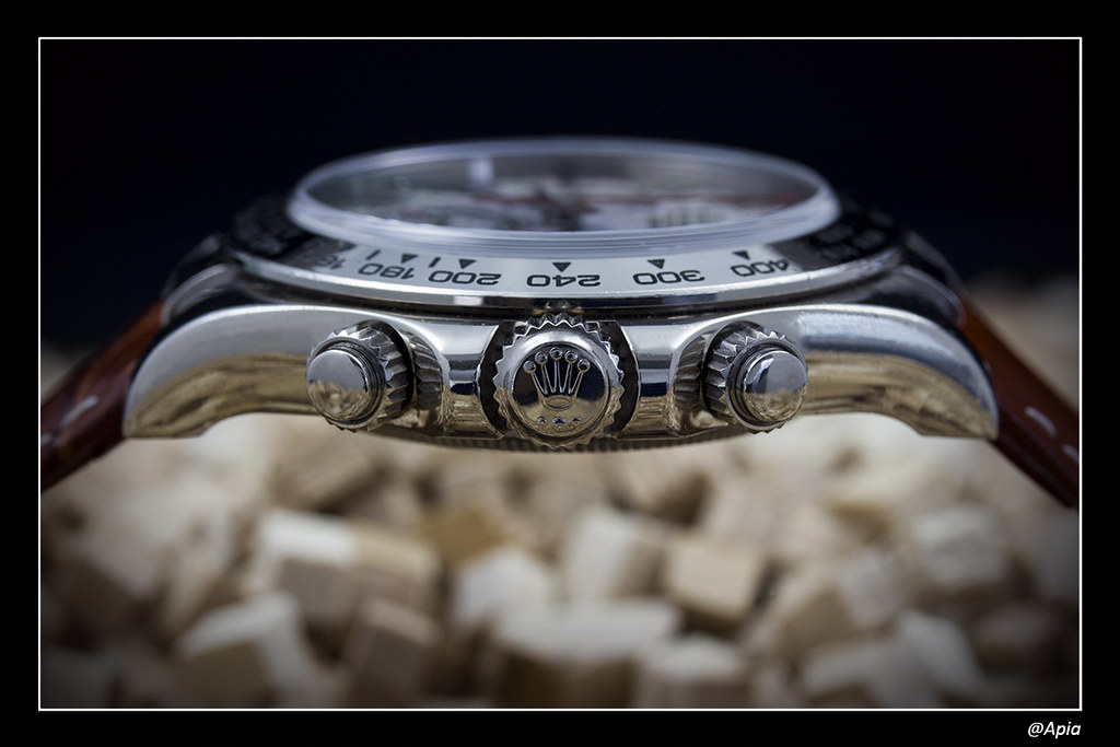 Daytona - [Revue] Rolex Daytona 116519 cadran Météorite ... alias Inespérée ;) 14183448283_4b93a975d1_b