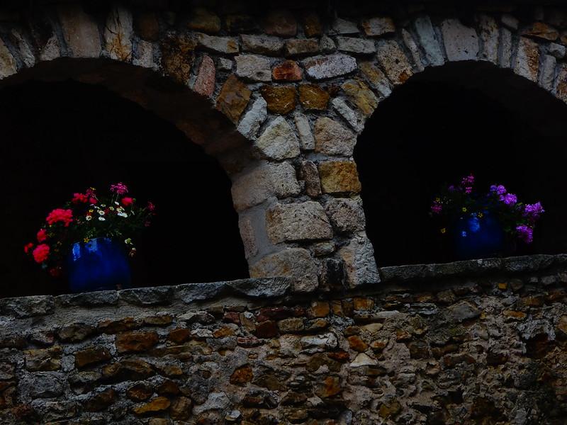 Potted plants, Vinezac