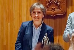 Carmen Aristegui recibe el galardón 'Corazón de León' ⑳