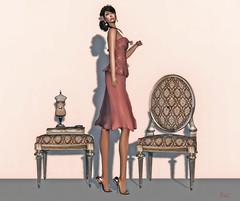 Snowpaws - Soyeux Cocktail Dress