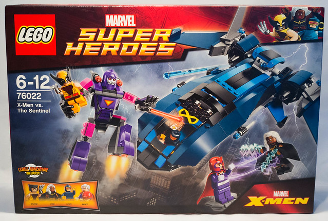 REVIEW LEGO 76022 Marvel - X-Men contre les Sentinelles