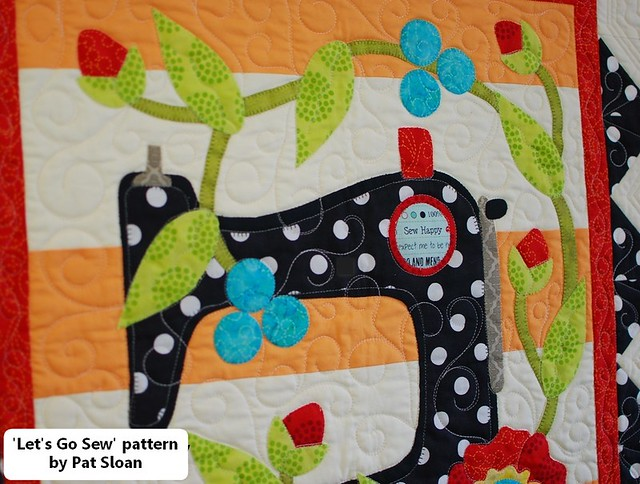 pat sloan lets go sew straight line quilting det 2