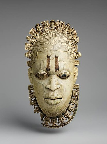 Queen Mother Pendant Mask: Iyoba, 16th century, Nigeria, Court of Benin.