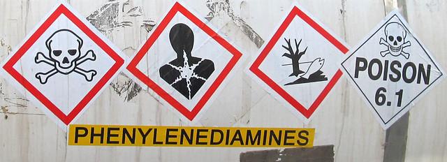 Severe Warnings on Chemical Truck