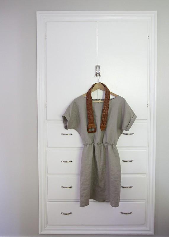 Salme Kimono sleeve dress and Kimono top mash-up