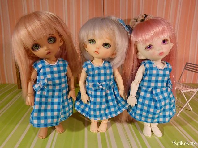 3 petits vichy