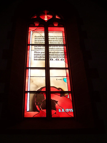 """Physicist's Window"", Church of the Holy Spirit, Heidelberg, Germany"