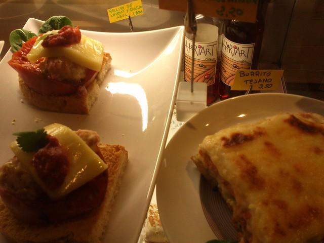 Burrito y comida mexicana en Estación Gourmet